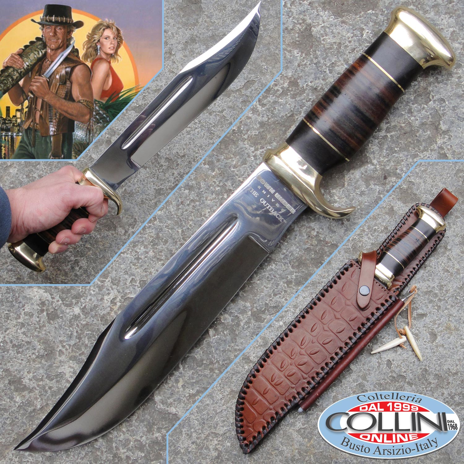 Down Under Knives The Outback Bowie Coltello L446128
